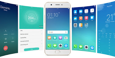 User Interface OPPO A57