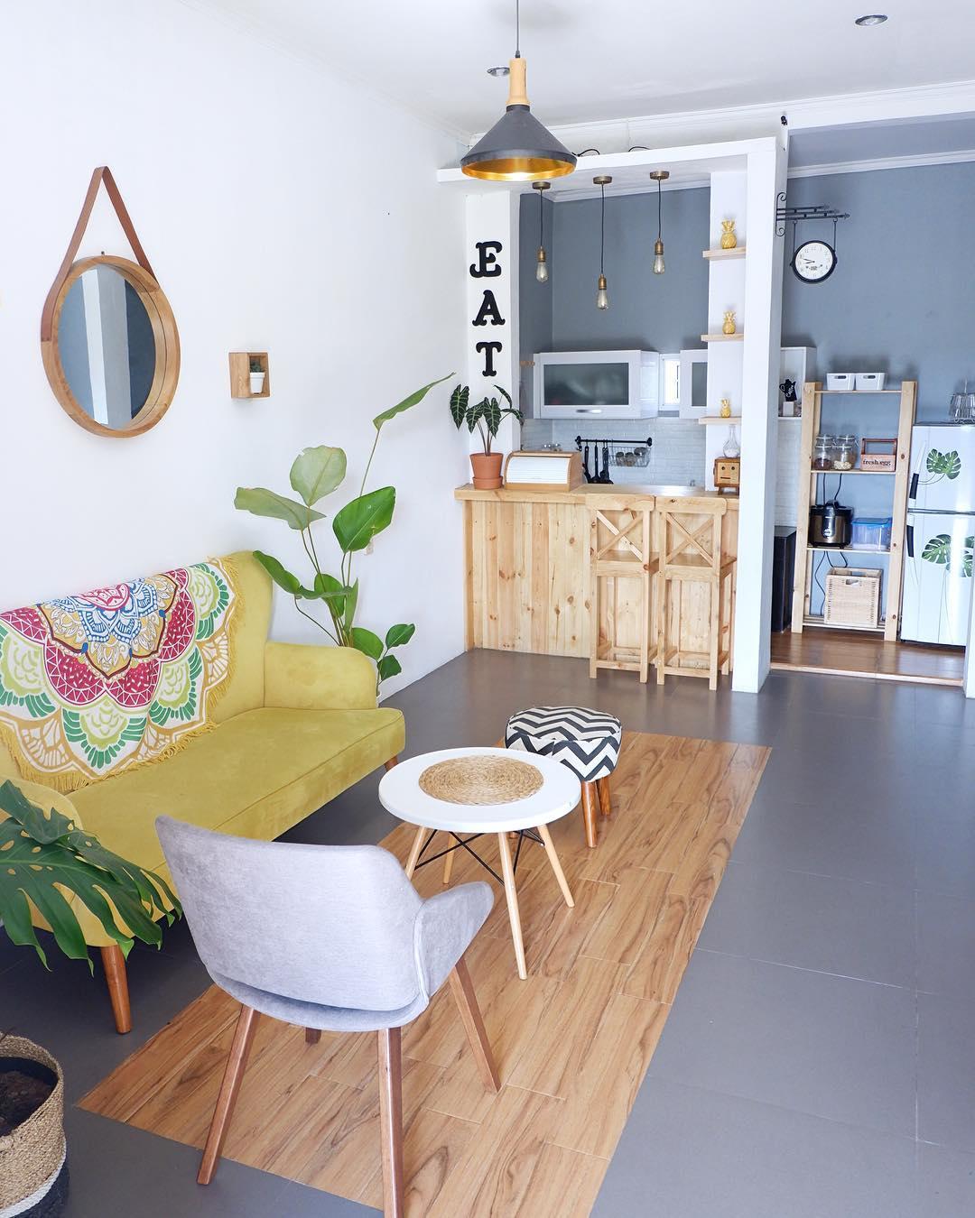 Dekorasi Rumah Minimalis Dengan Warna Warna Retro Kembali Hits