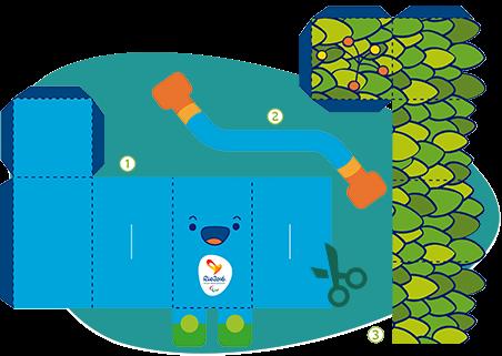 Download Topeng Paralimpic 2016 Rio Brasil