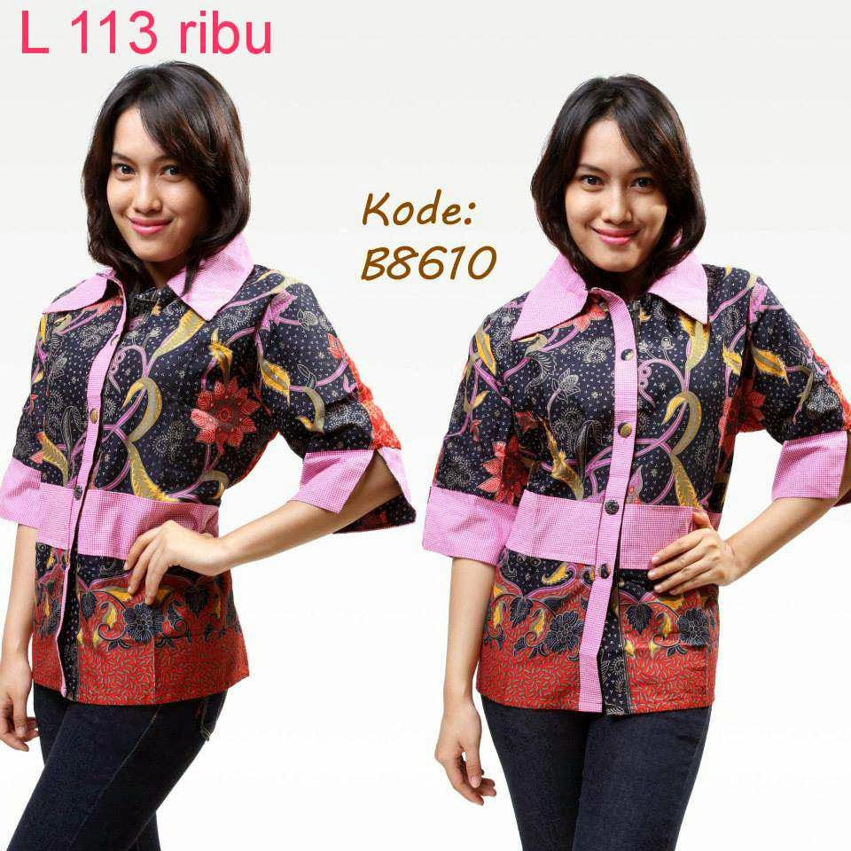 Model Baju Batik Semi Formal: Cari Model Baju Batik Terbaru