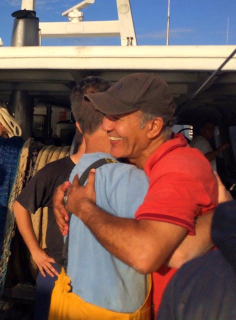 www.pescaturismomallorca.com turistas franceses emocionados