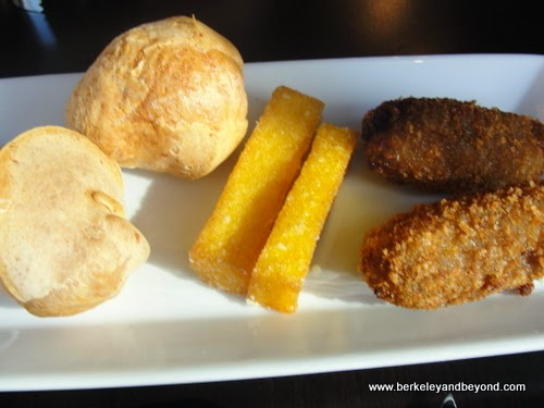 appetizers at Galeto Brazilian Grill in Oakland, California