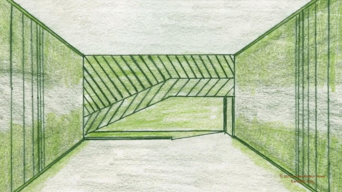 Interior de Estructura Extraterrestre