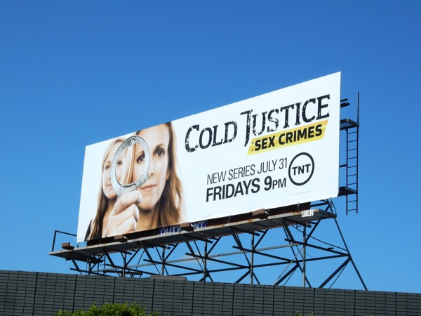 Cold Justice Sex Crimes series premiere billboard