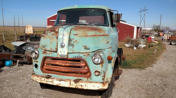 1956 Dodge Model H Cabover Truck - Old Truck