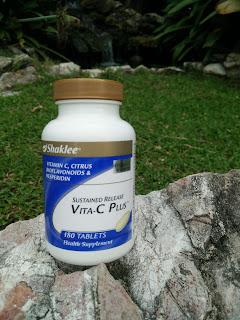 Vitamin C Shaklee boleh membantu meningkatkan tahap kesuburan isteri