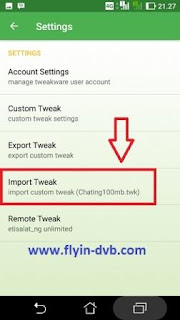 Import Tweak