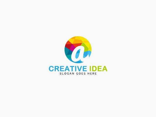 Creative Idea Logo PNG and PSD Free
