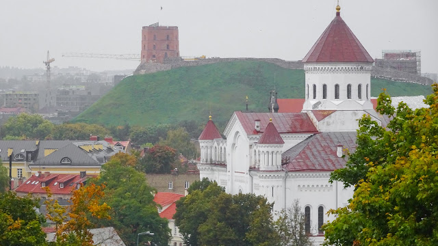 View from the Vilnius Bastion