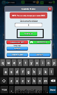 Change Name Game Clash Royale Android