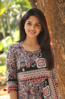 Actress Sunaina Latest Stills in Floral Dress at Pelliki Mundu Prema Katha Trailer Launch  0032.JPG