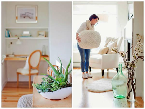 Damajuanas y grandes jarrones para decorar una estancia - Decoracion para jarrones ...