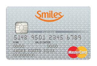 Cartão de crédito Platinum Smiles