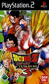 149721 dragon ball z budokai tenkaichi 3 playstation 2 front cover - Dragon Ball Z: Budokai Tenkaichi 3 - PS2