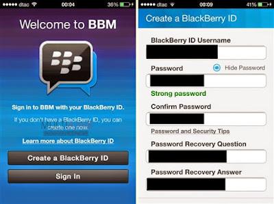 Cara Daftar dan Instal Aplikasi BBM Untuk Android