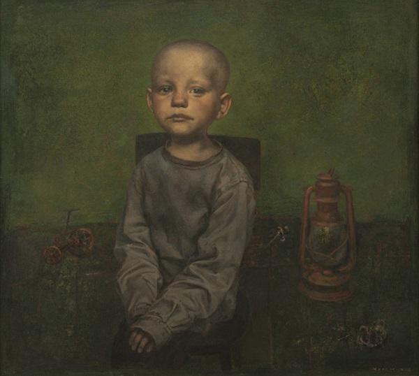 """arte contemporáneo, pinturas, """"Broken Toys"""" by Igor Melnikov, 2012."""