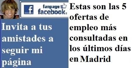 Twitvc madrid embajadora de marca ofertas de empleo facebook linkedin twitter infojobs - Ofertas de empleo en coruna ...