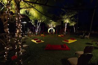 low bed seating arrangements for mehndi sangeet haldi night kerala