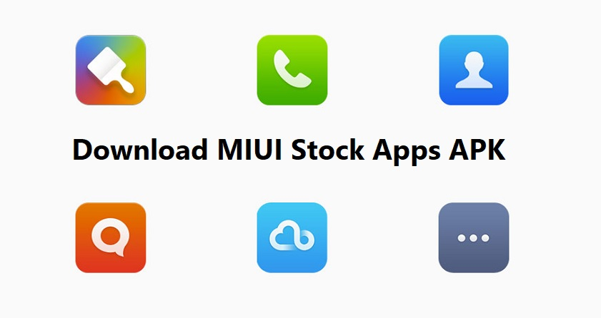 Download MIUI Stock Apps APK