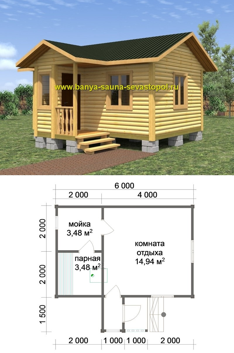 баня строительство