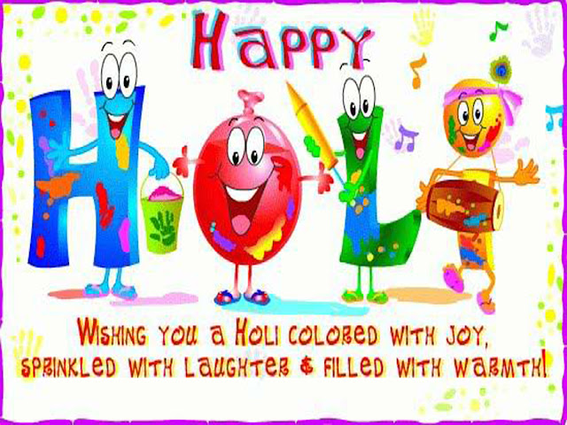 happy holi colours