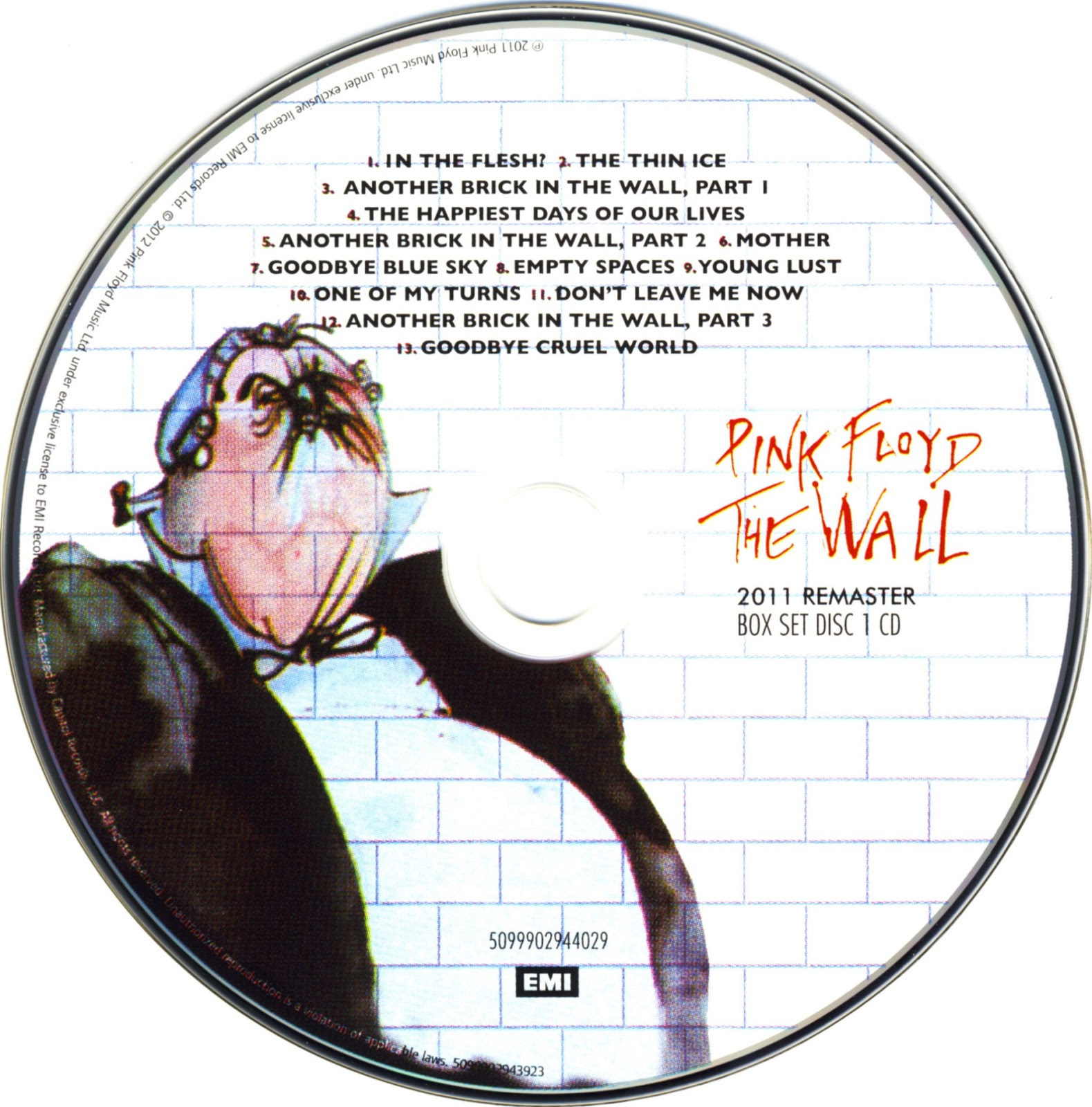 The Wall Pink Floyd: Por Victor Sousa: The Wall (Immersion