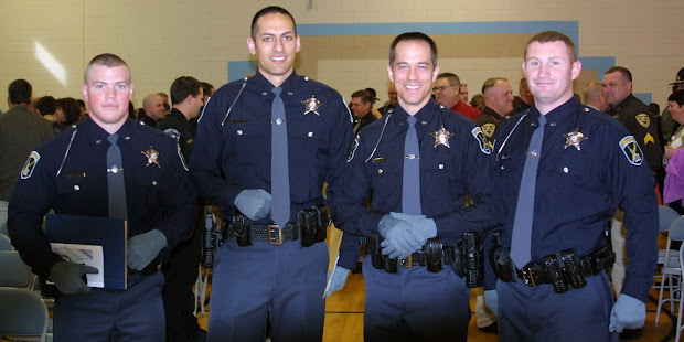 Michigan State Police Recruits Sworn In - Year of Clean Water