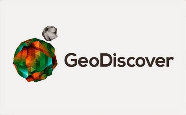 Kumpulan Desain Logo Low Poly - GeoDiscover Low Polygon Logo