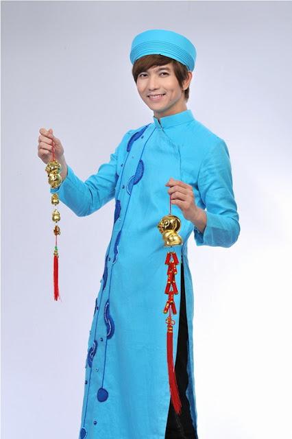 thuê áo dài nam tphcm