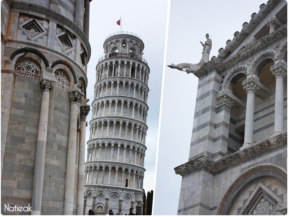 Tour de Pise et ses monuments