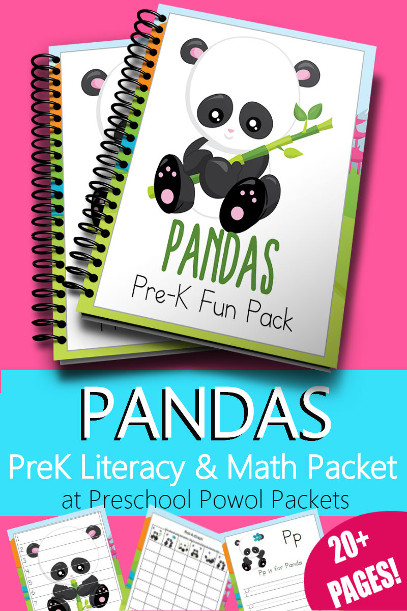 Panda Preschool Printable Packet {{FREE for 1 WEEK}} | Preschool ...