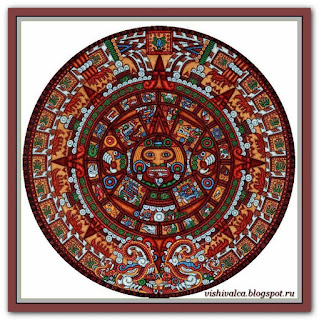 """""""Aztec Mayan calendar"""" Tilton Crafts"""