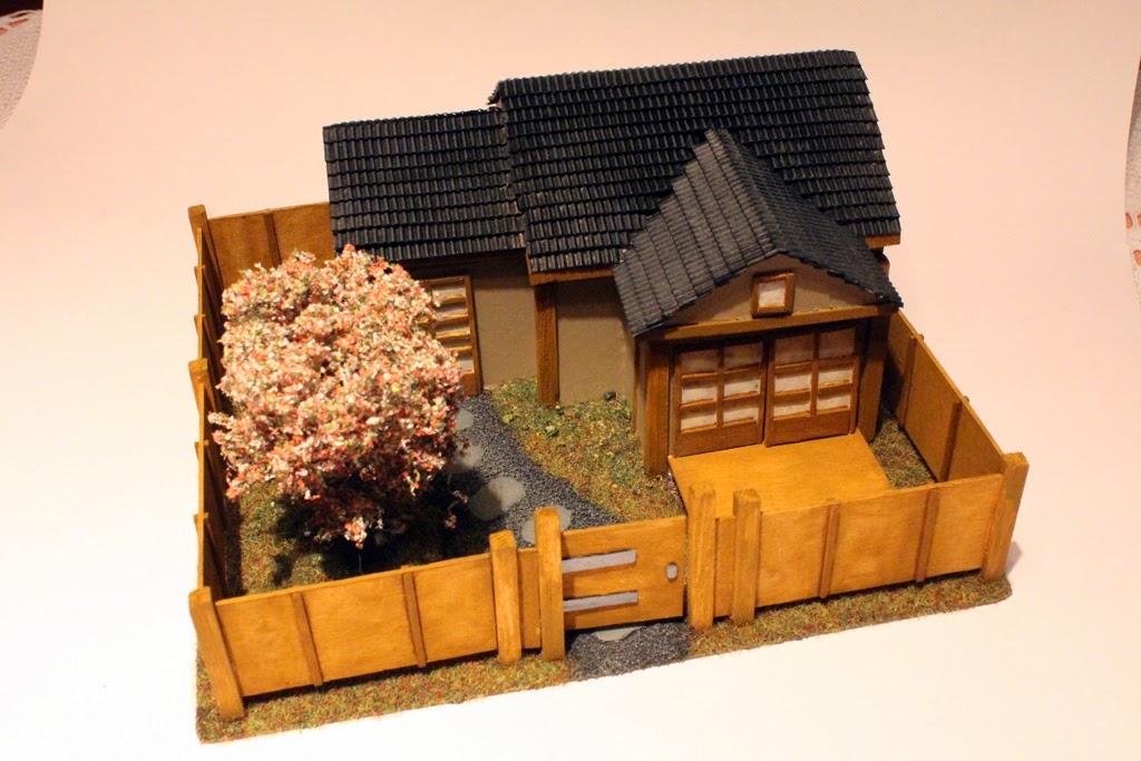 men of lead and plastic japanisches haus. Black Bedroom Furniture Sets. Home Design Ideas