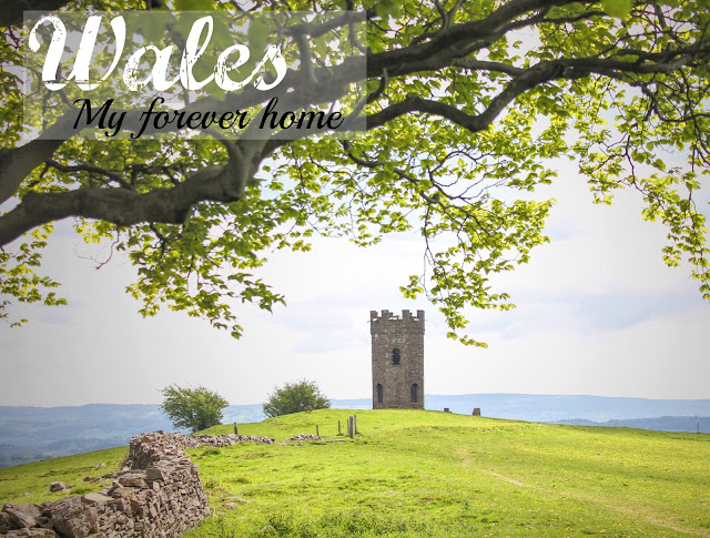 blog header photo - folly tower in pontypool, south wales - wales my forever home