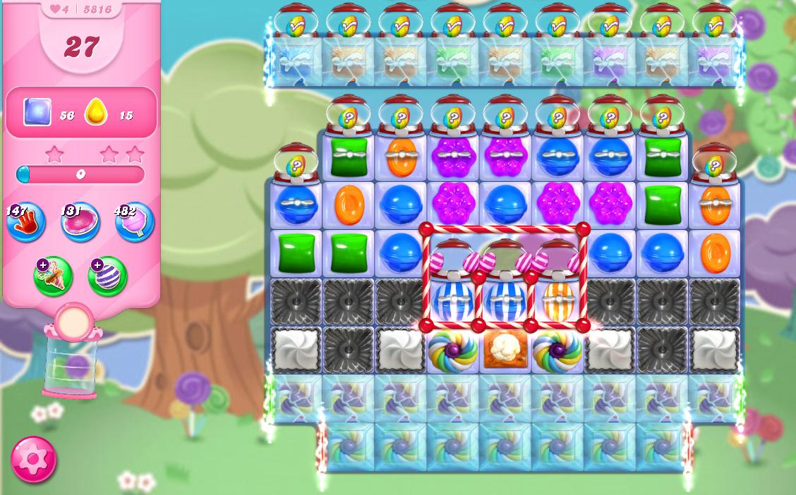 Candy Crush Saga level 5816