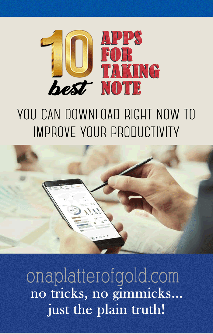 10 Essential Note Taking Apps To Download Right Now To Improve Your Productivity