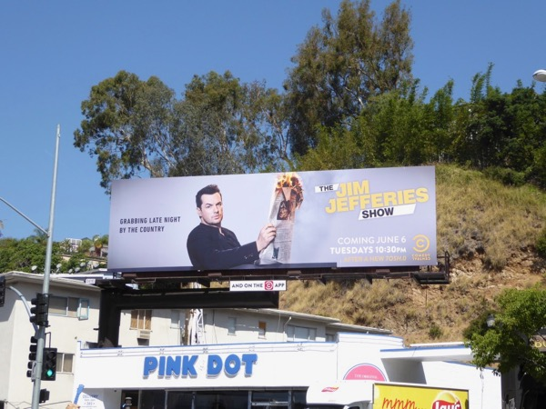 Jim Jefferies Show season 1 billboard