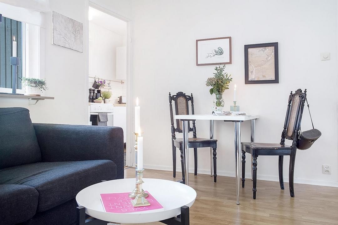 d couvrir l 39 endroit du d cor une petite surface bien accueillante. Black Bedroom Furniture Sets. Home Design Ideas