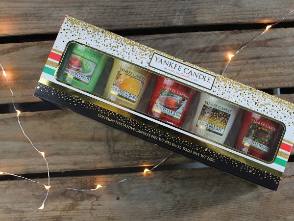 Yankee Candle Christmas Votive Candles Giftbox