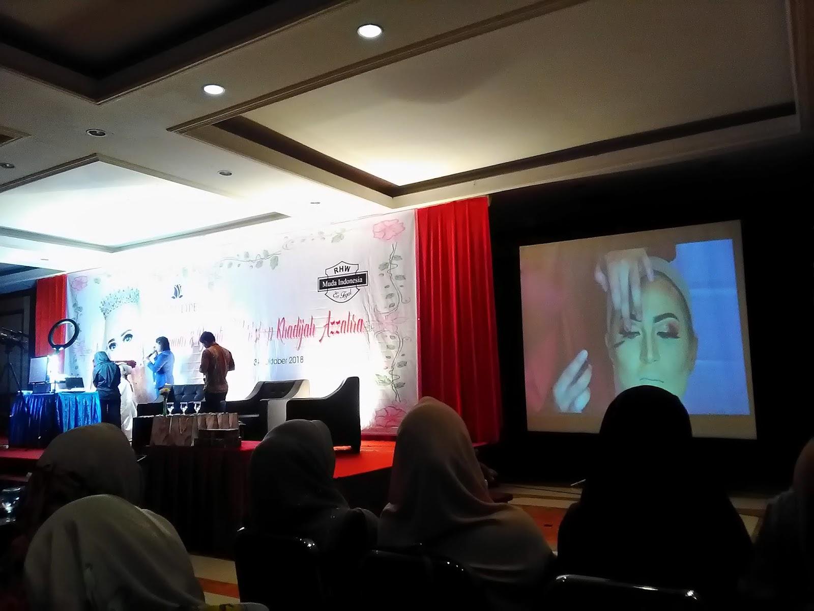 seminar di kota kecil khadijah azzahra