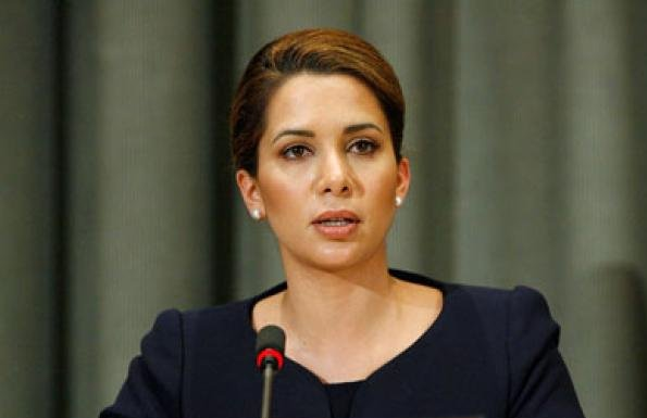 Princess Haya of Jordan, who has been UN Peace Ambassador since 2007, shared a message calling for ceasefire