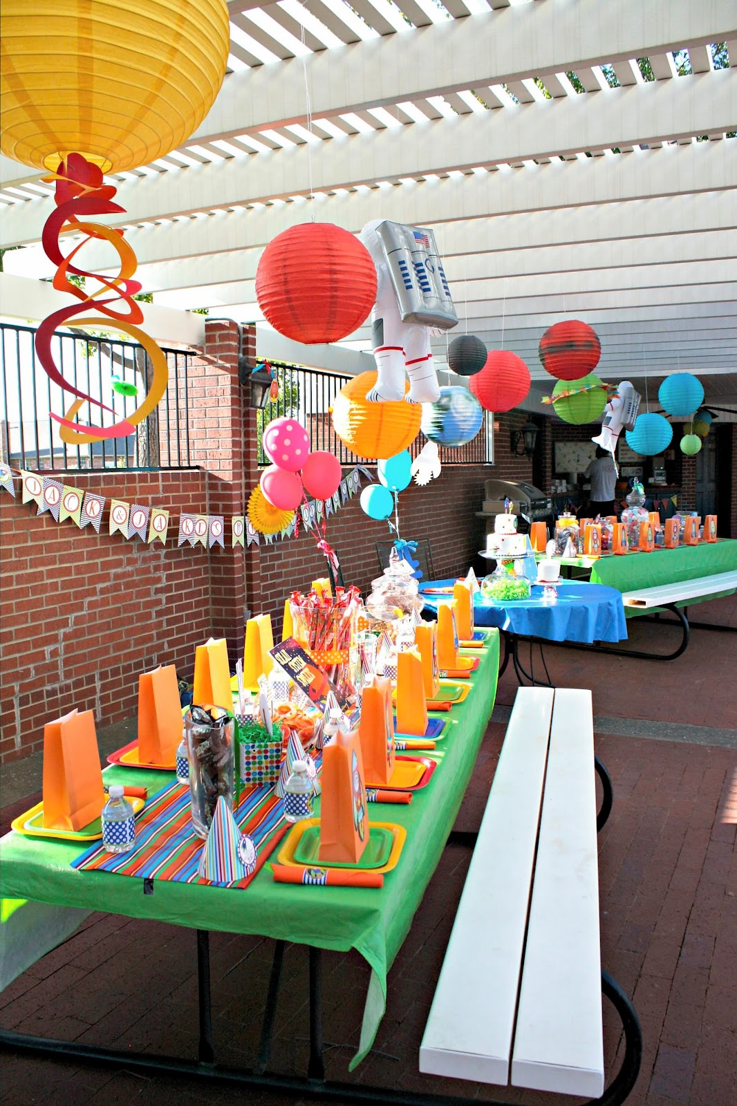 The Laws of My Life: A Planet Birthday Party!