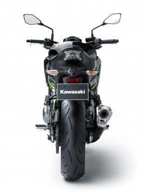 2017 Kawasaki Z900 rear image