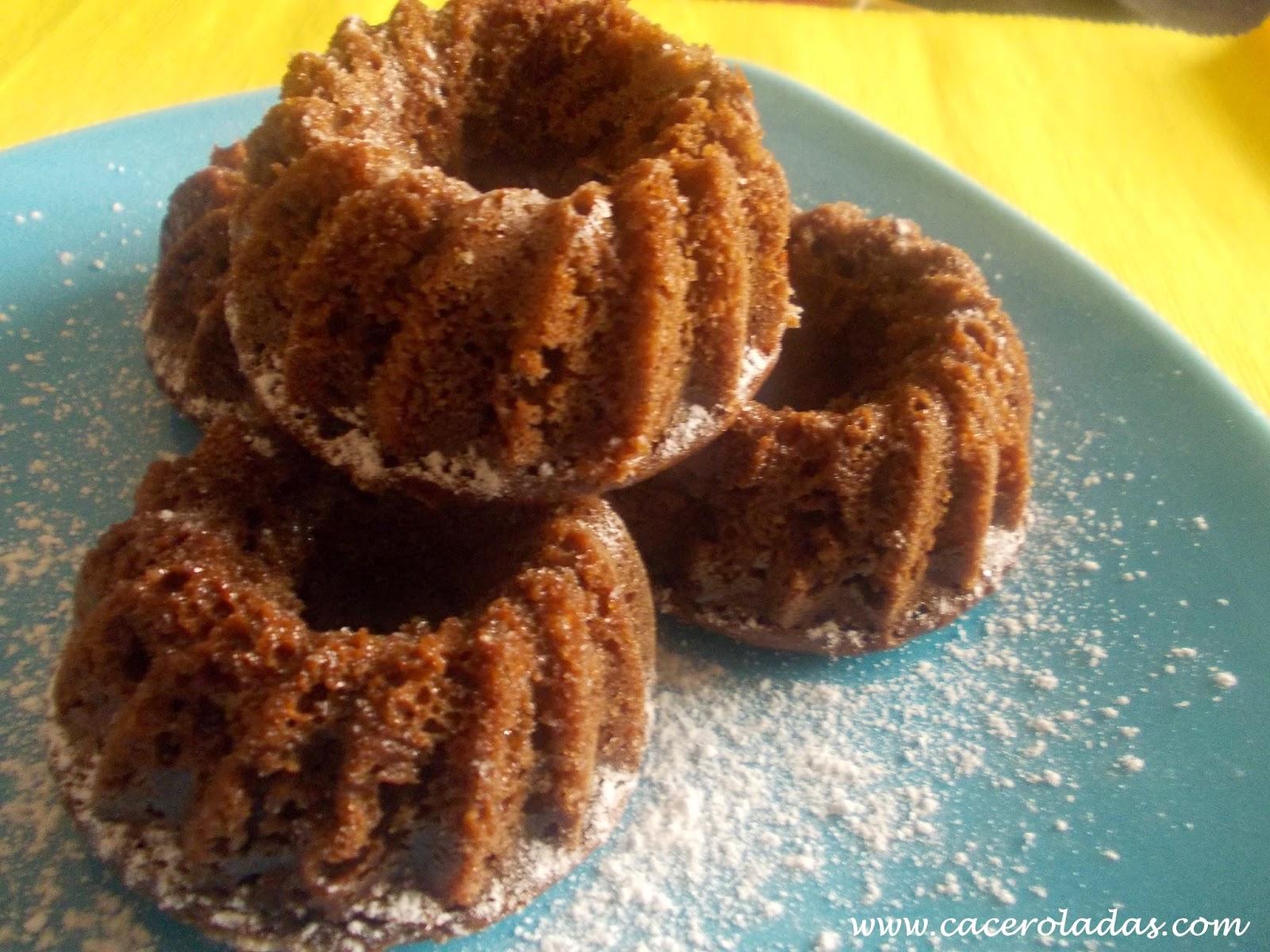 Bizcochitos de chocolate y mandarina
