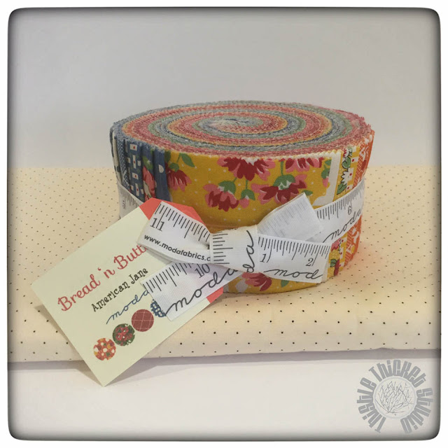 Bread 'n Butter Jelly Roll by American Jane on Thistle Thicket Studio. www.thistlethicketstudio.com