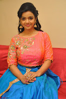 Nithya Shetty in Orange Choli at Kalamandir Foundation 7th anniversary Celebrations ~  Actress Galleries 097.JPG