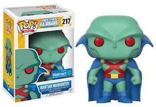 Funko Pop! Heroes: Martian Manhunter JLU