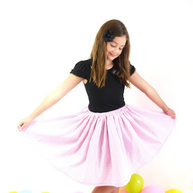 Easy DIY Party Skirt Video Tutorial