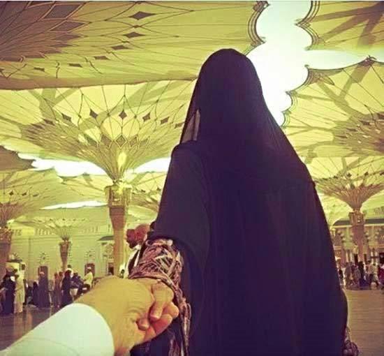 Gambar Kartun Wanita Muslimah Dari Belakang Terbaru 93 Gambar Kartun Pernikahan Islami Romantis Cikimm Com