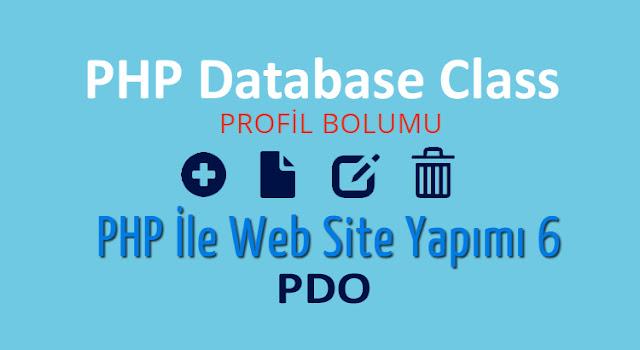 php ile profil ve profil duzenleme yapımı